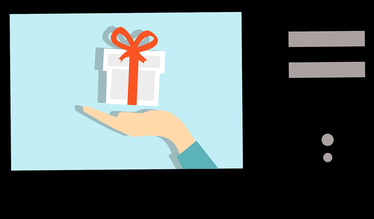 מתנה בתוך אתר