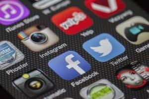 אייקונים של רשתות חברתיות